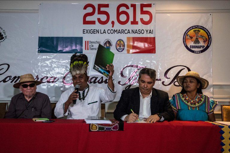 Naso petition handover brings renewed hope