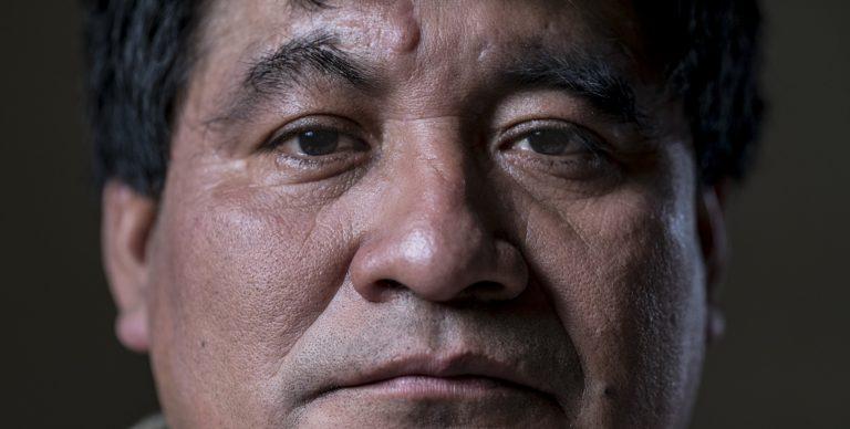 Serving a seven year prison sentence for defending the Cahabón River