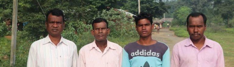 Bajo amenaza por resistir una mina ilegal en India
